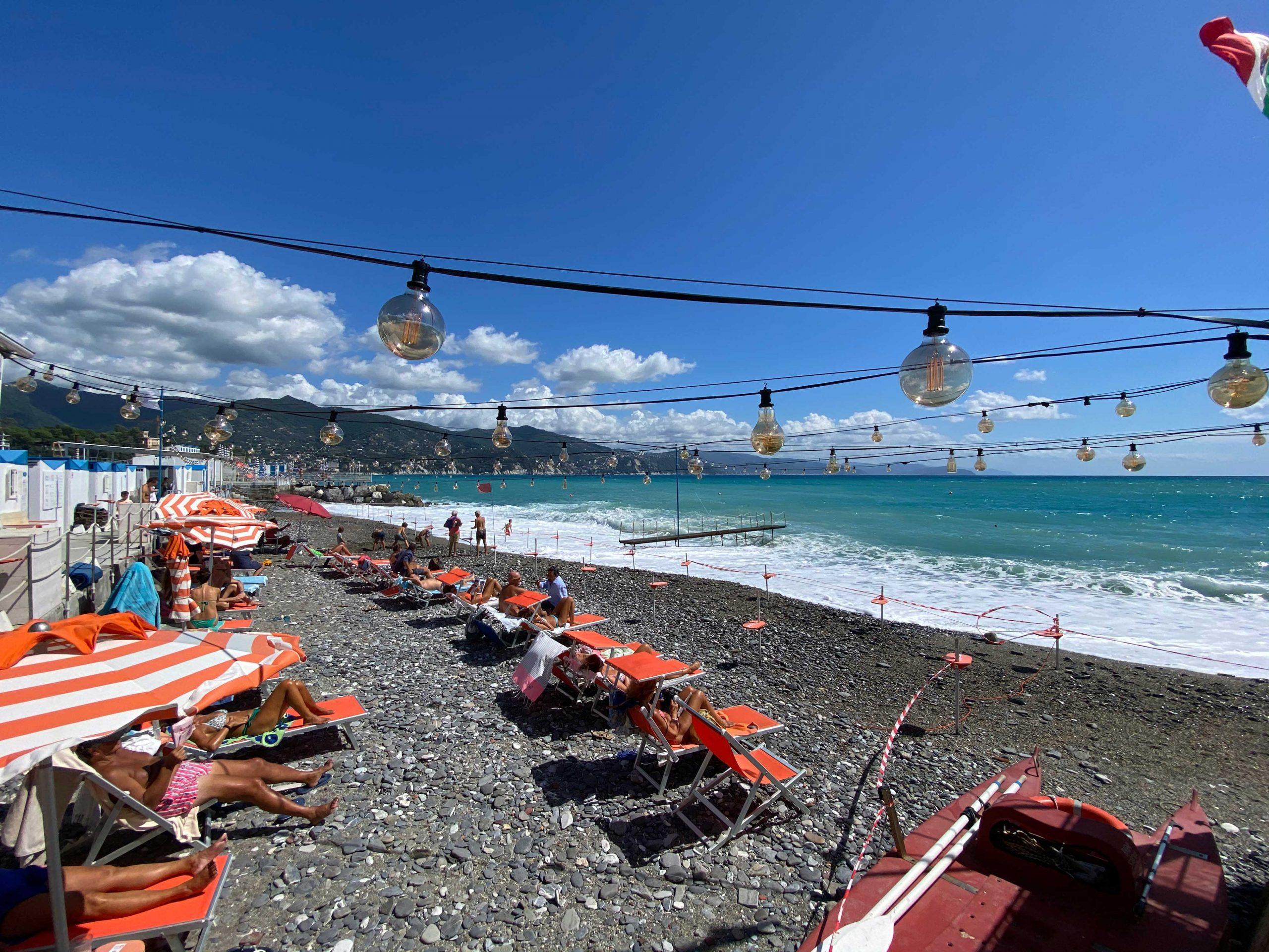 Spiaggia e mareggiata - Bagni Sirena 2019