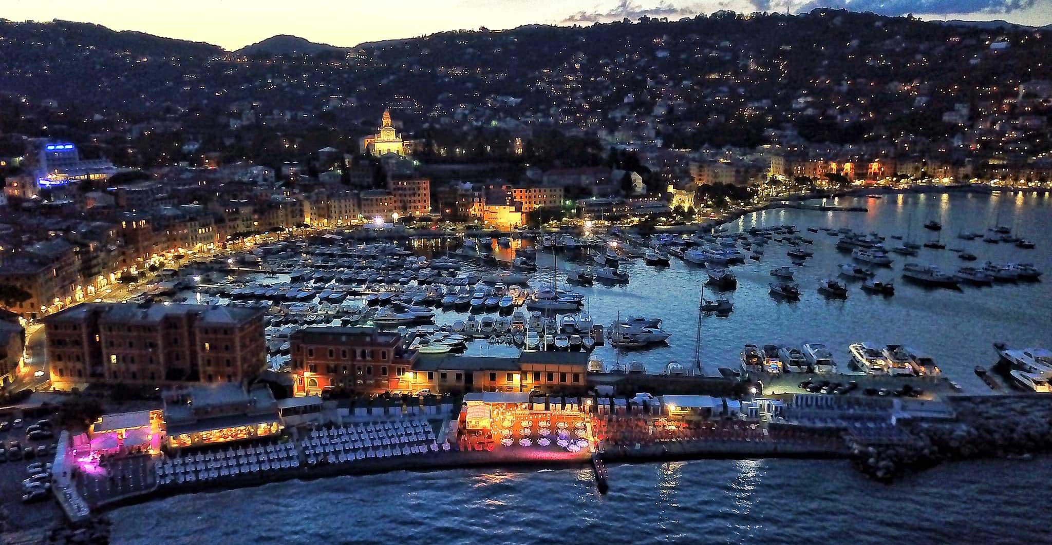 Bagni Sirena allestiti dall'alto - 2019