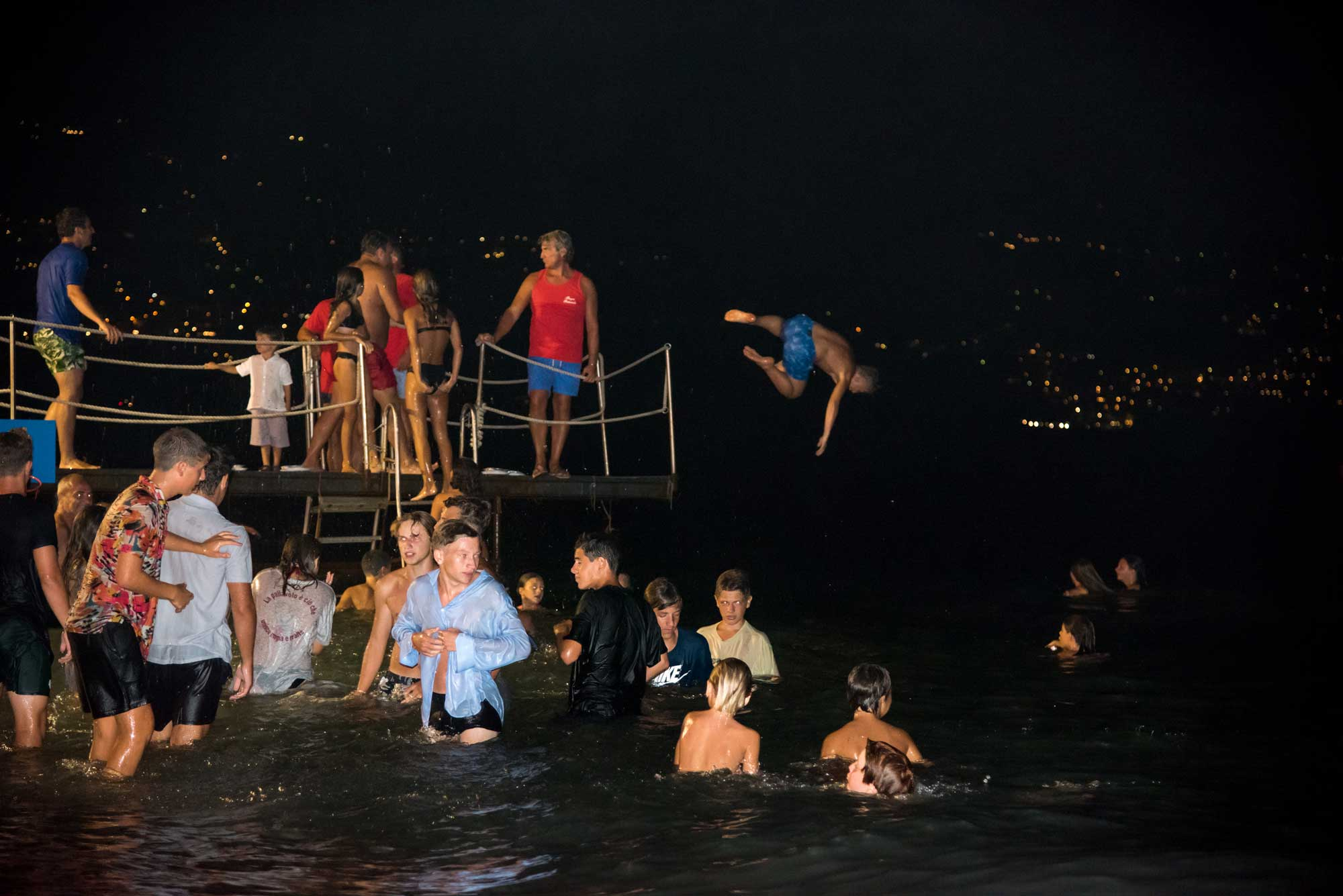 Bagno di mezzanotte a ferragosto - Bagni Sirena 2020