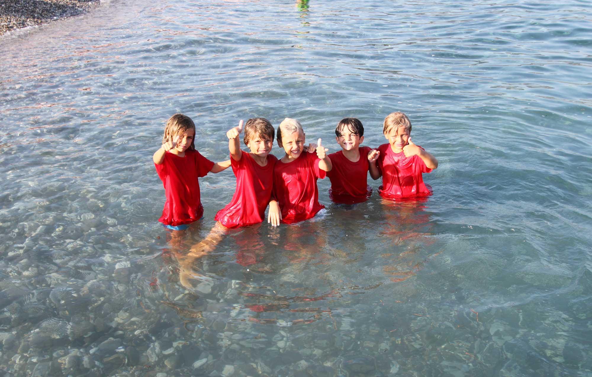 Bambini al mare - Mini Olimpiadi Bagni Sirena 2020