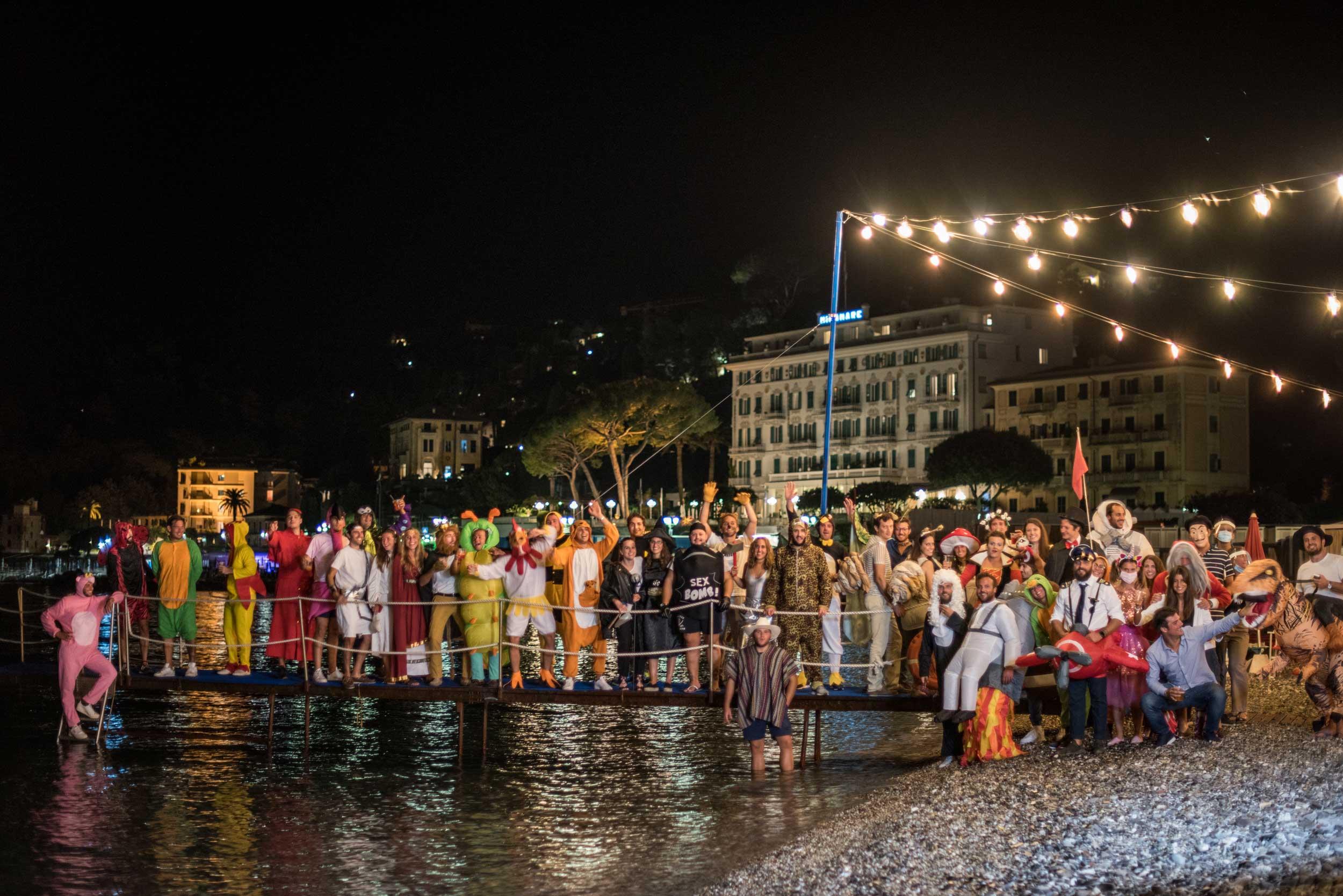 Festa privata in maschera - Bagni Sirena 2020