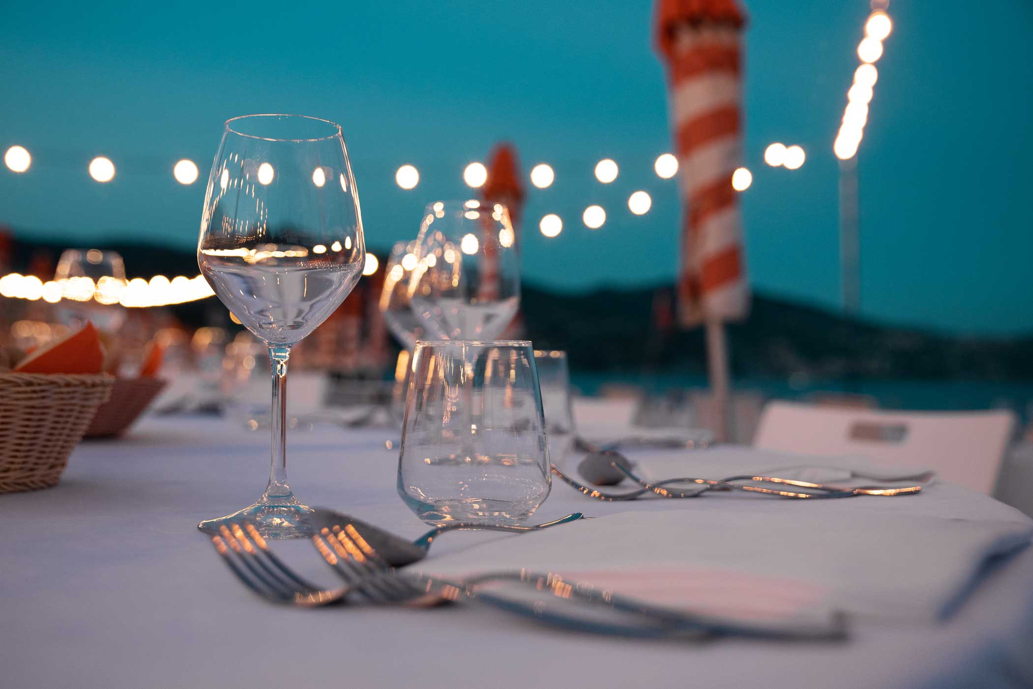 Tavolo ristorante Bagni Sirena