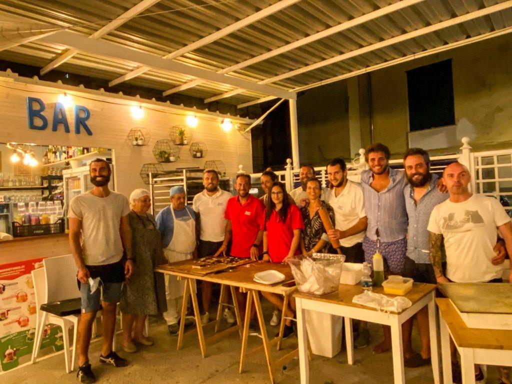 Staff Bagni Sirena ferragosto 2020
