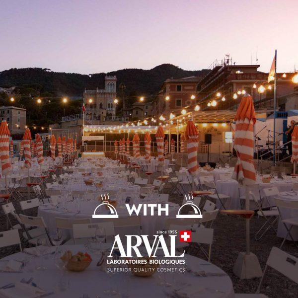 Cena in Spiaggia con Arval Bagni Sirena santa margherita ligure