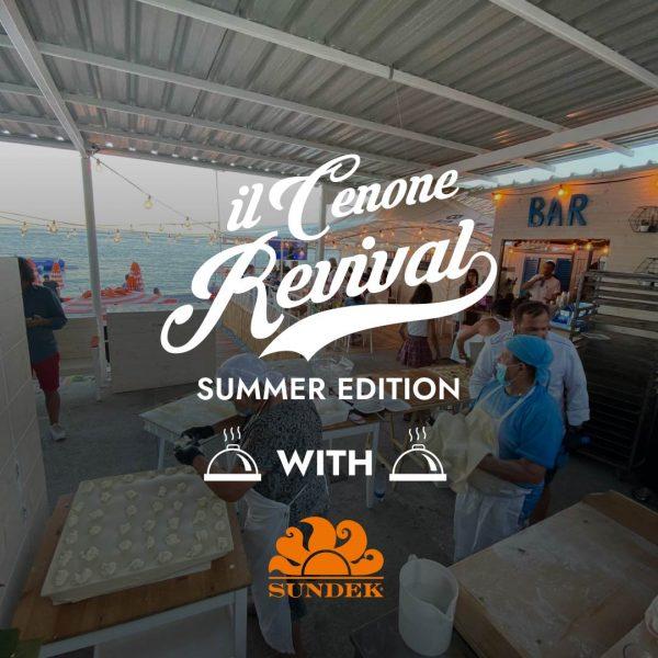 Cenone Revival Summer Edition Bagni Sirena santa margherita ligure
