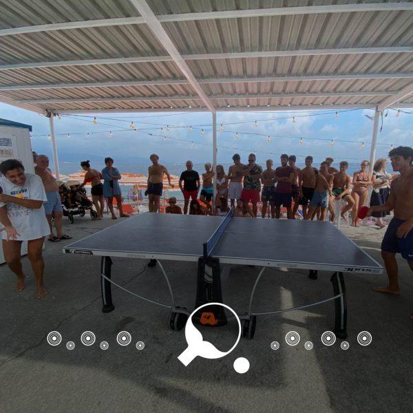 Torneo Ping Pong Open Bagni Sirena santa margherita ligure