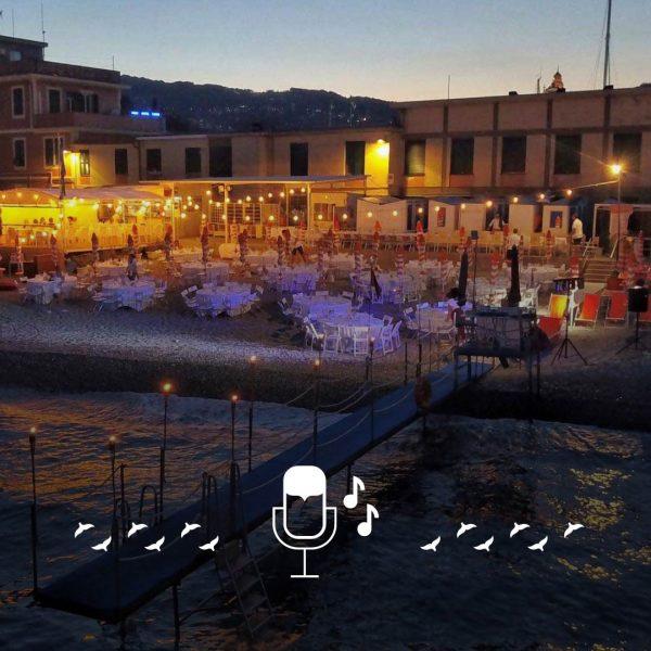 Cena Cantata in Spiaggia - Bagni Sirena santa margherita ligure